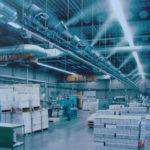 Подавление пыли в промышленности